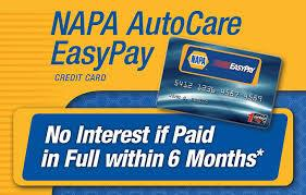 NAPA Easy Pay